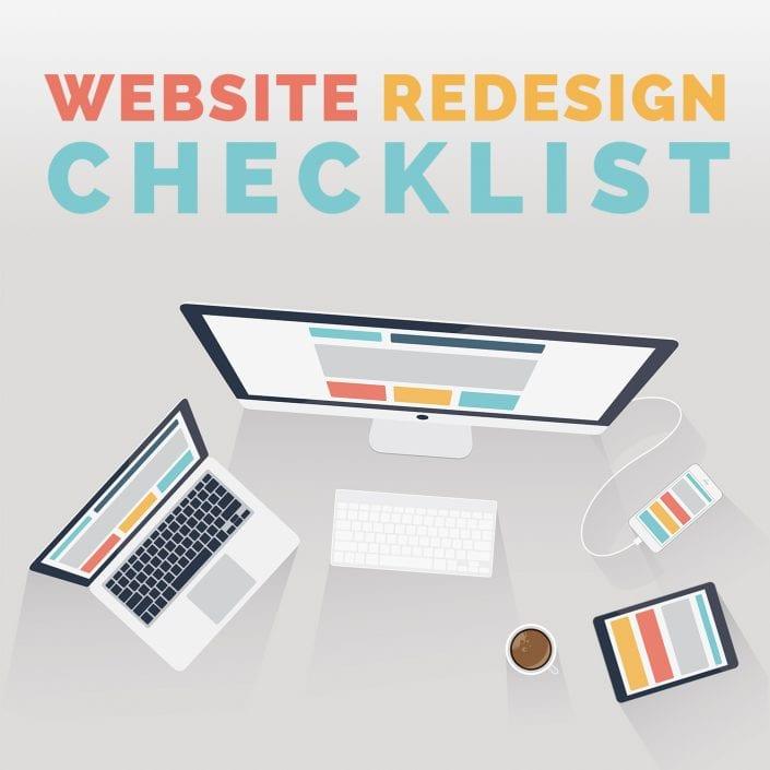 Website Redesign Checklist