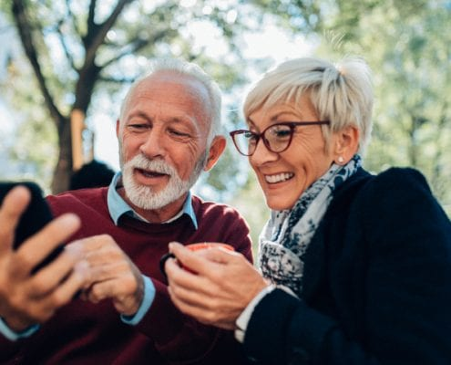 visual aids in senior living marketing